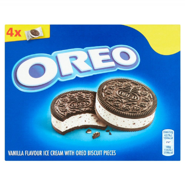 Oreo Sandwich Ice Cream 4x55ml